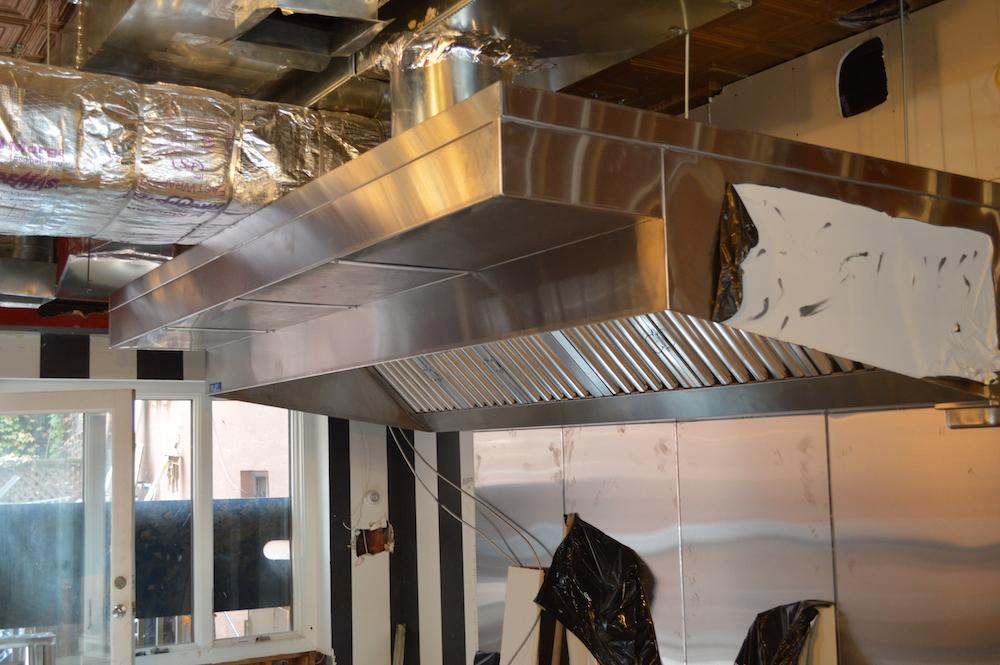 Flatbread Grill Hoboken NJ Hood Installation