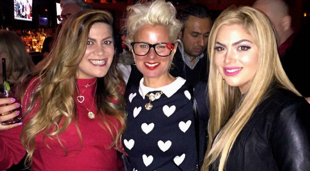 Gonca Esendemir & Arzu Esendemir with Lori Cheek