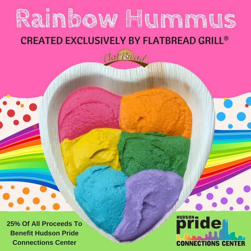 Flatbread Grill® Rainbow Hummus